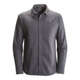 Black Diamond Men's Chambray Modernist Long Sleeve Shirt - Smoke Grey
