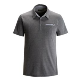 Black Diamond Men's Attitude Polo Shirt - Granite Grey