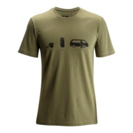 Black Diamond Men's Dirtbag Short Sleeve T Shirt - Burnt Olive