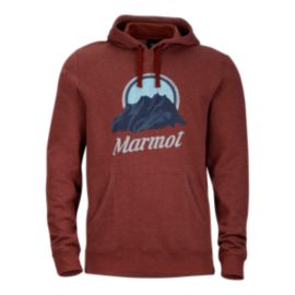 Marmot Men's Pikes Peak Hoodie - Team Red