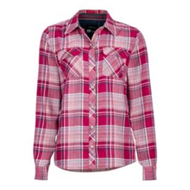Marmot Women's Bridget Flannel Shirt - Red