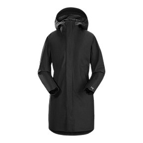 Arc'teryx Women's Codetta Long Gore-Tex Jacket - Black