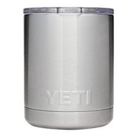 YETI Rambler 10 oz Lowball with Lid - Stainless