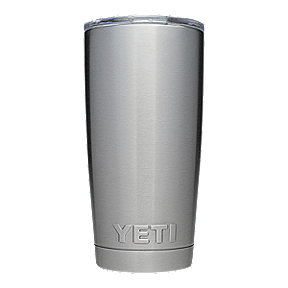 YETI Rambler 20 oz Tumbler with Lid - Stainless