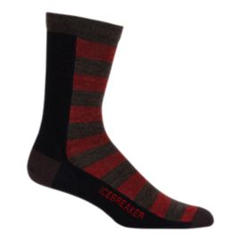 Icebreaker Men's Lifestyle Ultralight Bisect Crew Socks