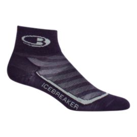 Icebreaker Women's Run+ Ultralight Cushion Mini Socks