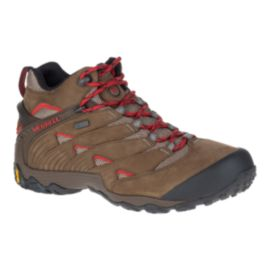 Merrell Men's Chameleon 7 Mid Waterproof Hiking Boots - Boulder