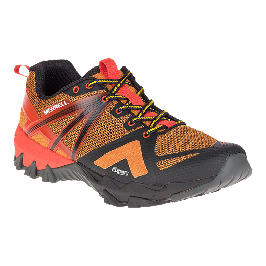 Merrell MQM FLEX - Hiking shoes - old gold JUX9Efx