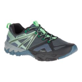 Merrell Women's MQM Flex Invisible Fit Hiking Shoes - Grey/Black