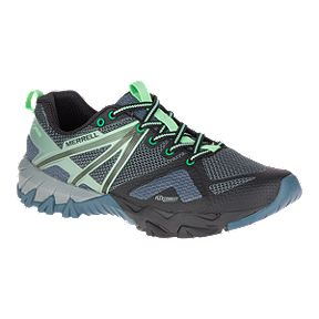 Merrell Women s MQM Flex Invisible Fit Hiking Shoes - Grey Black 868b7a6156