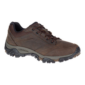 Merrell Men's Adventure Moab Lace Hiking Shoes - Dark Earth