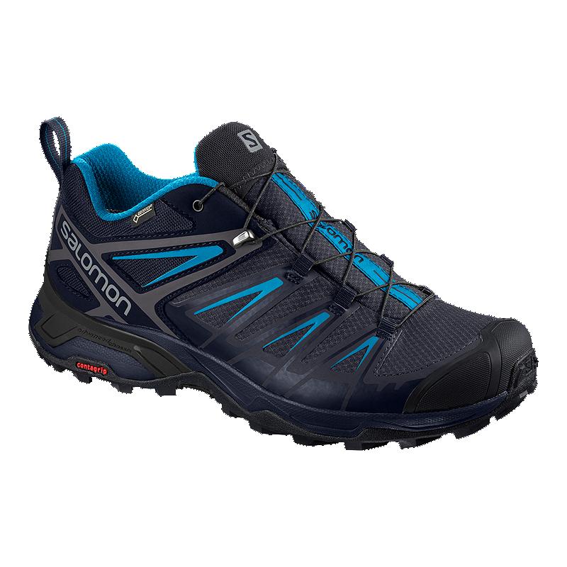 324ca9086aa6 Salomon Men s X Ultra 3 Gore-Tex Hiking Boots - Graphite Blue ...