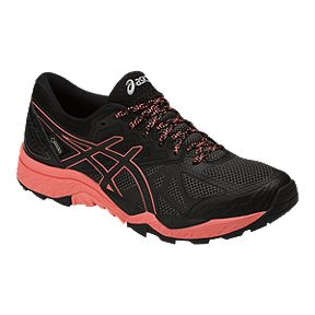 67f5922b6ecf7 ASICS Women s Gel Fujitrabuco 6 GTX Trail Running Shoes - Black Pink