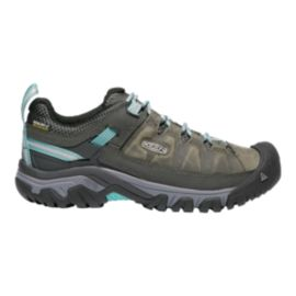 Keen Women's Targhee III Waterproof Hiking Shoes - Alcatraz/Blue
