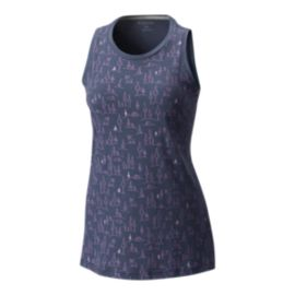 Columbia Women's Summiteer Tank - Nocturnal Heather