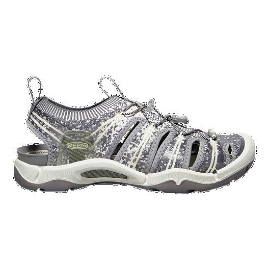 08a1b3e01090 Keen Women s EvoFit One Sandals - Grey White
