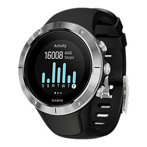Suunto Spartan Trainer GPS Watch with HR - Black/Stainless Steel