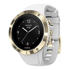 Suunto Spartan Trainer GPS Watch with HR - White/Gold