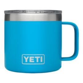 YETI Rambler 14 oz Mug with Lid - Tahoe Blue