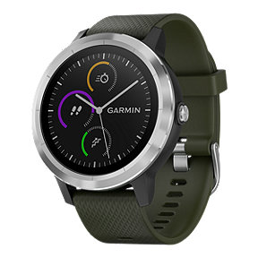 Garmin vívoactive 3 Smartwatch - Black/Stainless Steel