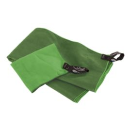 PackTowl Personal Face & Body Towel Set - Evergreen/Sprout