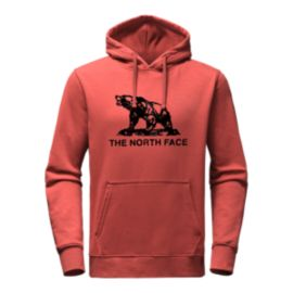 The North Face Men's Woodcut Pullover Hoodie - Red