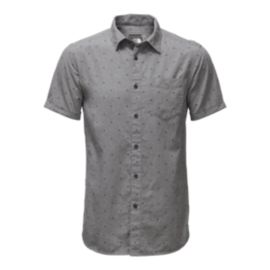 The North Face Men's Bay Trail Jacquard Short Sleeve Shirt - Grey
