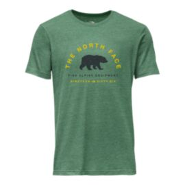 The North Face Men's Mascot Tri-Blend Short Sleeve T Shirt - Smoke Pine