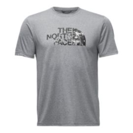 The North Face Men's Reaxion Amp Graphic T Shirt - Medium Grey