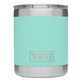 YETI Rambler 10 oz Lowball with Lid - Seafoam