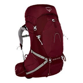 Osprey Women s Aura AG 50L Backpack - Gamma Red 3c465e1bd6086