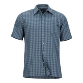Marmot Men's Eldridge Short Sleeve Shirt - Steel Onyx