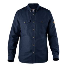 Fjällräven Men's Övik Lite Long Sleeve Shirt - Dark Navy