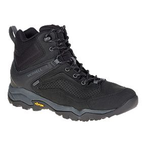 Clearance. Merrell Men's Everbound Mid Waterproof Hiking Boots - Black
