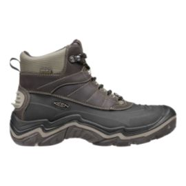 Keen Men's Durand Polar Shell Waterproof Winter Boots - Black/Brindle