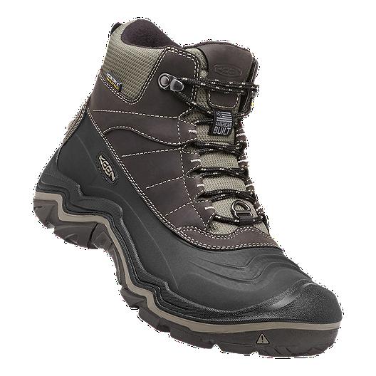 bebca23d6dd Keen Men's Durand Polar Shell Waterproof Winter Boots - Black/Brindle
