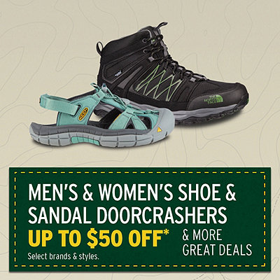 Men's & Women's Select Shoe Doorcrashers Up to $50 Off*