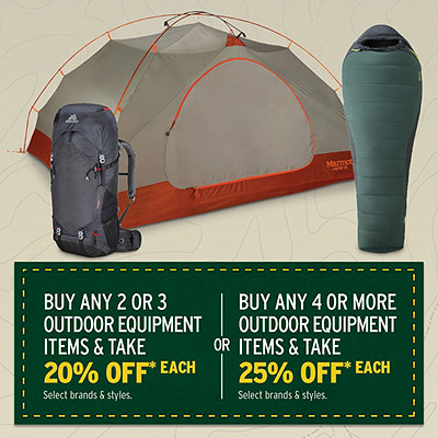 Outdoor Equipment Mix & Match Sale
