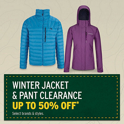 Men's & Women's Winter Jacket & Pant Clearance Up to 50% Off*