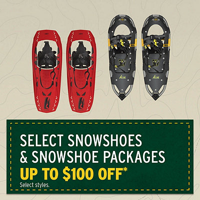 Select Snowshoe Packages Up To $100 Off*