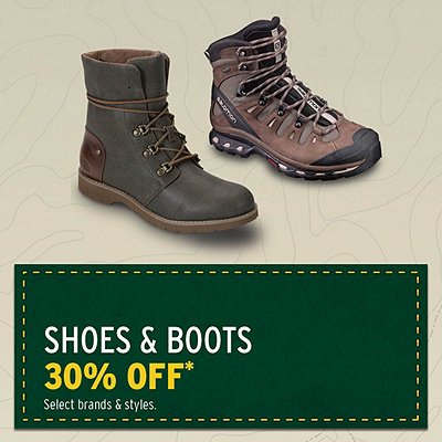 Shoes & Boots 30% Off*