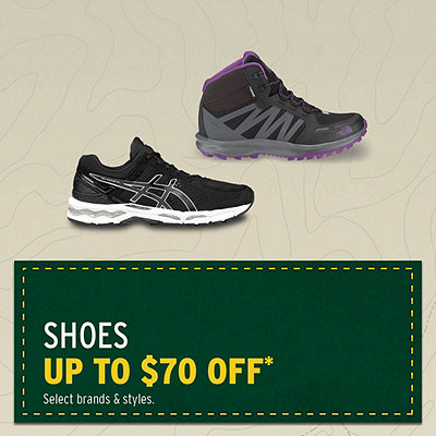 Shoes & Winter Boots up to $70 Off*
