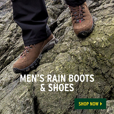 Men's Spring Waterproof Shoes - Challenge The Elements