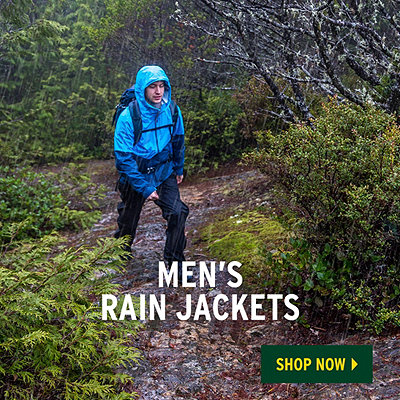 Men's Spring Waterproof Rain Jackets & Rain Pants - Challenge The Elements