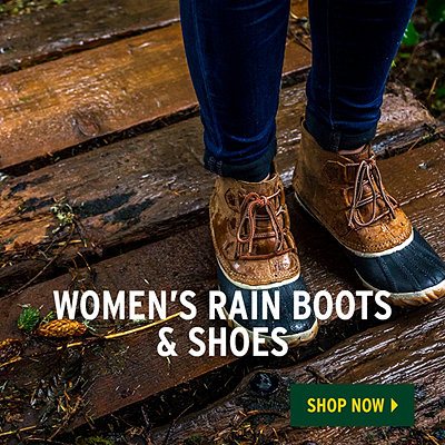 Women's Spring Waterproof Shoes - Challenge The Elements