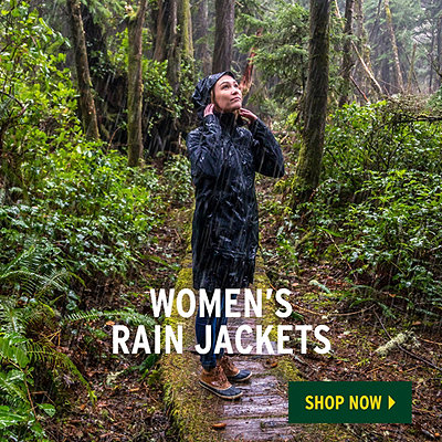 Women's Spring Waterproof Rain Jackets & Rain Pants - Challenge The Elements