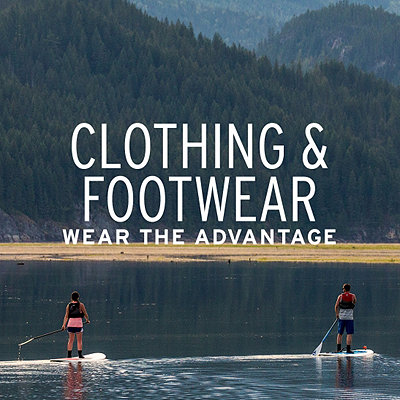 Paddling Clothing & Footwear