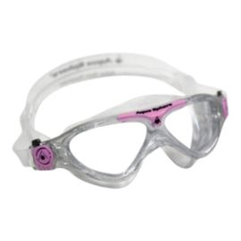Aqua Sphere Vista Junior Swim Goggles - Glitter / Light Pink