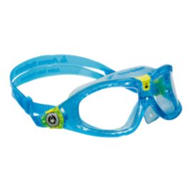 Aqua Sphere Seal Kids Swim Goggles - Aqua / Lime