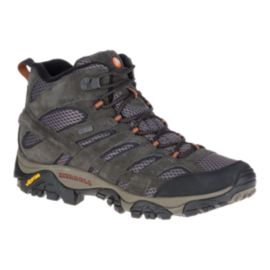 Merrell Men's Moab 2 Mid Waterproof Hiking Boots - Beluga